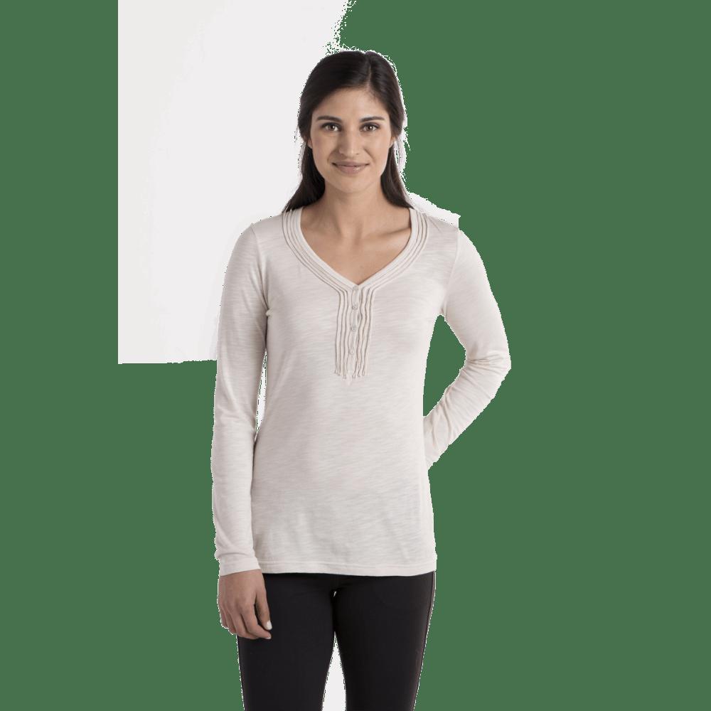 KÜHL Women's Vega Henley Shirt - CREAM