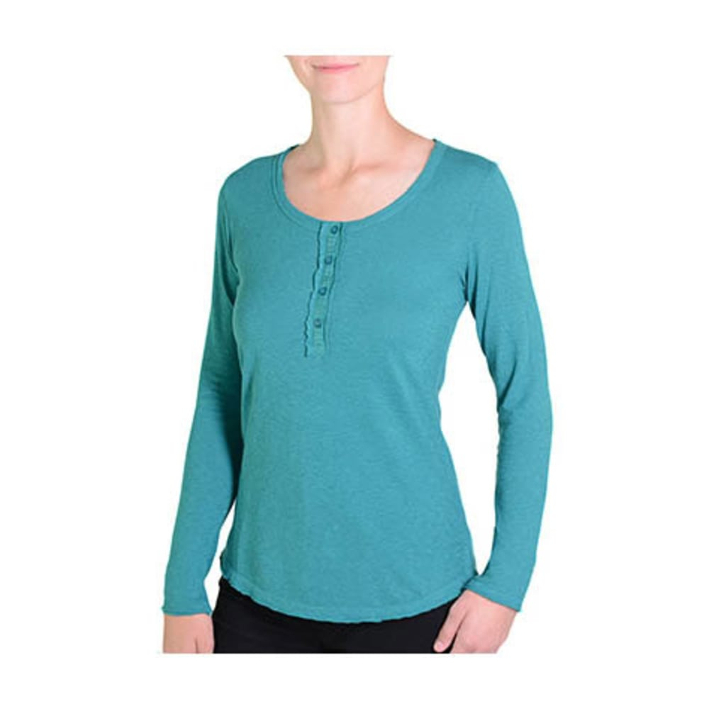 GRAMICCI Women's Audrey Henley - TURQUOISE
