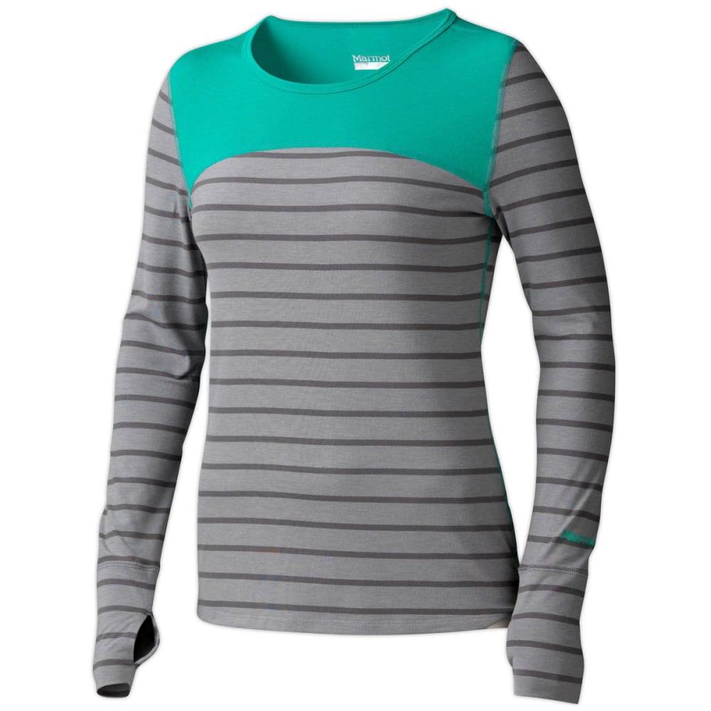 MARMOT Women's Vanessa Shirt, L/S - STEEL/CINDER