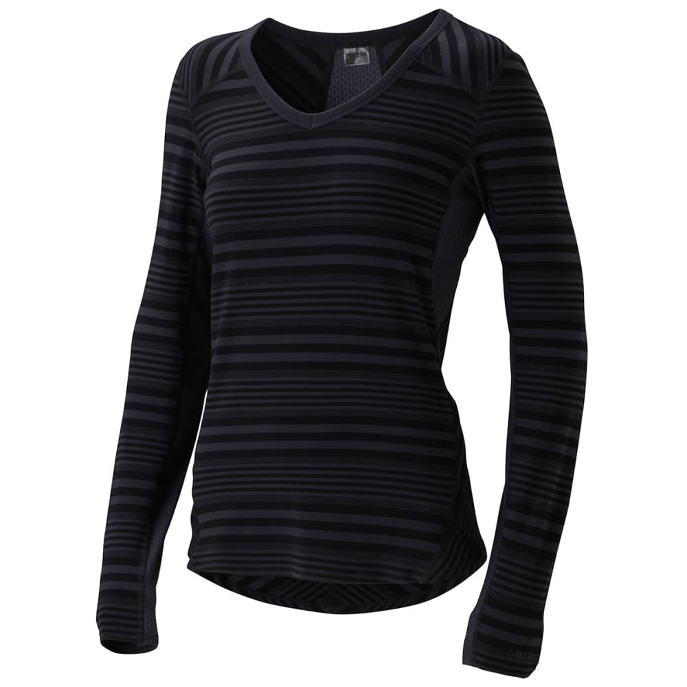 MARMOT Women's Julia Long-Sleeve Shirt - DARK STEEL