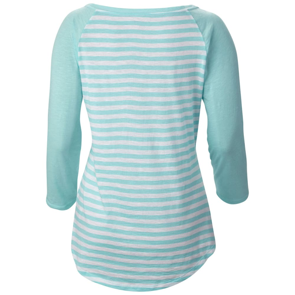 "COLUMBIA Women's Everyday Kenzie   3/4 €""Sleeve Shirt - CANDY"