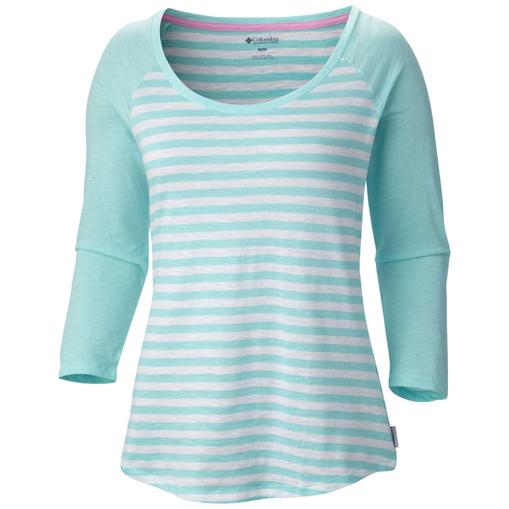 "COLUMBIA Women's Everyday Kenzie   3/4 €""Sleeve Shirt - CANDY"