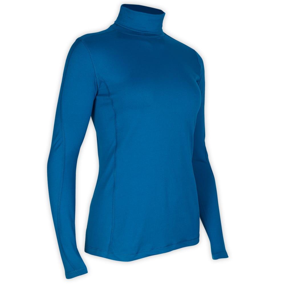 EMS® Women's Voyager Turtleneck - PEACOCK BLUE