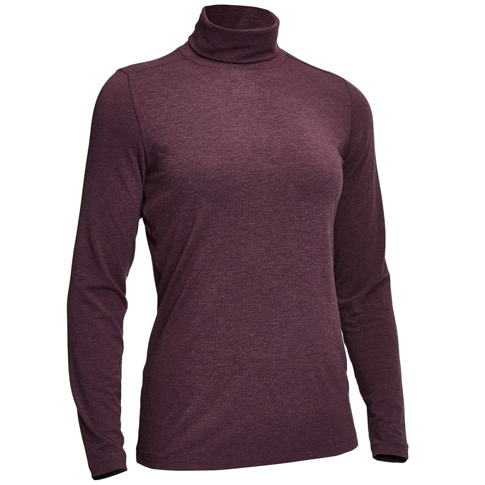 EMS® Women's Techwick® Journey Turtleneck   - PLUM PERFECT
