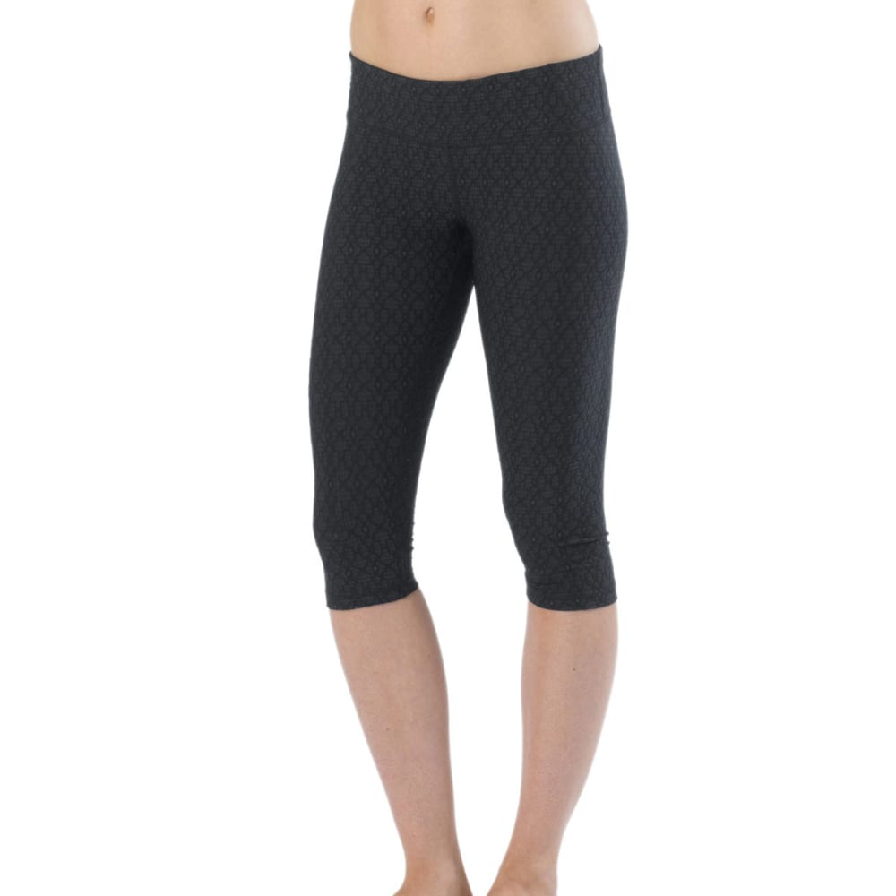 PRANA Women's Misty Knickers - BLACK