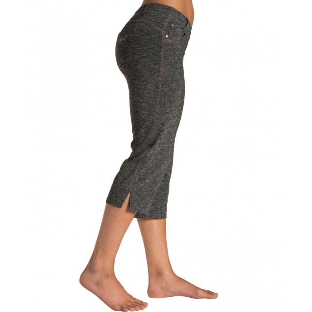 KÜHL Women's Mova Kapri Pants  - DARK HEATHER
