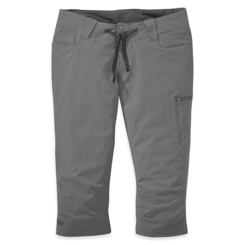 OUTDOOR RESEARCH Women's Ferrosi Capris - PEWTER