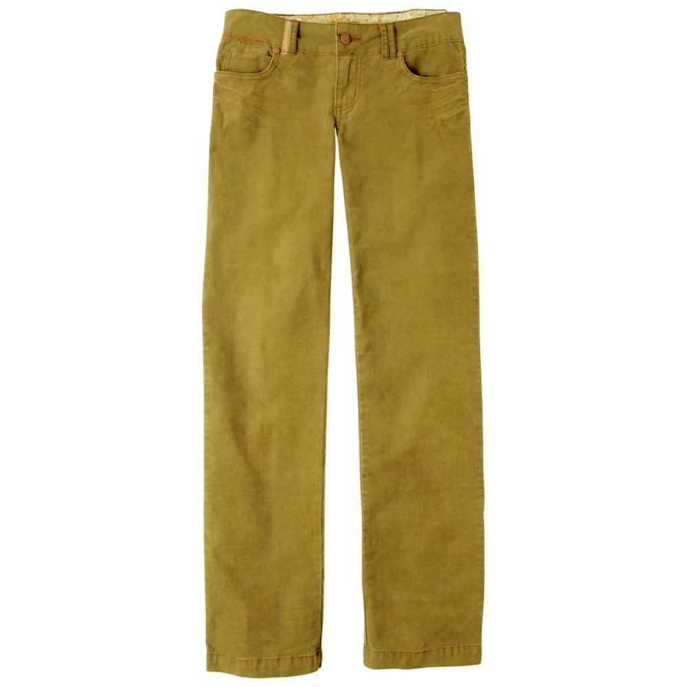 PRANA Women's Canyon Cord Pants, Regular - TORTOISE