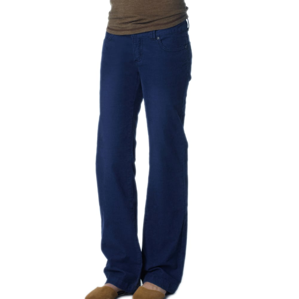PRANA Women's Canyon Cord Pants, Regular - BLUE RIDGE