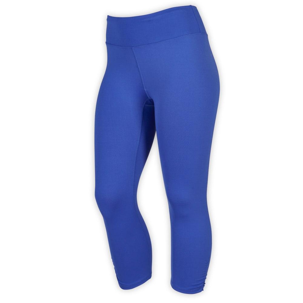 EMS® Women's Techwick® Fusion Capri Leggings - DAZZLING BLUE