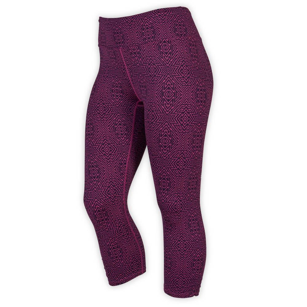 EMS® Women's Techwick® Fusion Capri Leggings - PURPLE ORCHID