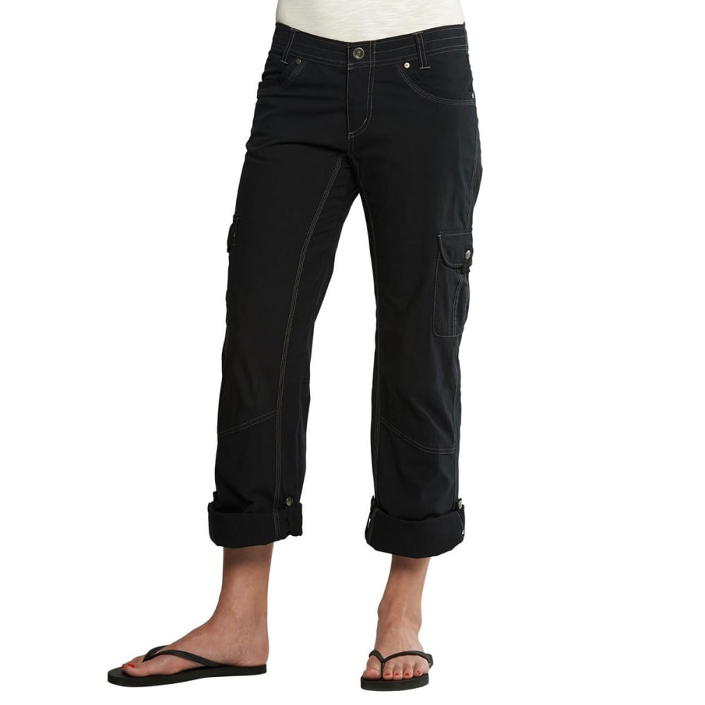 KÜHL Women's Splash Roll-Up Pants - BLACK