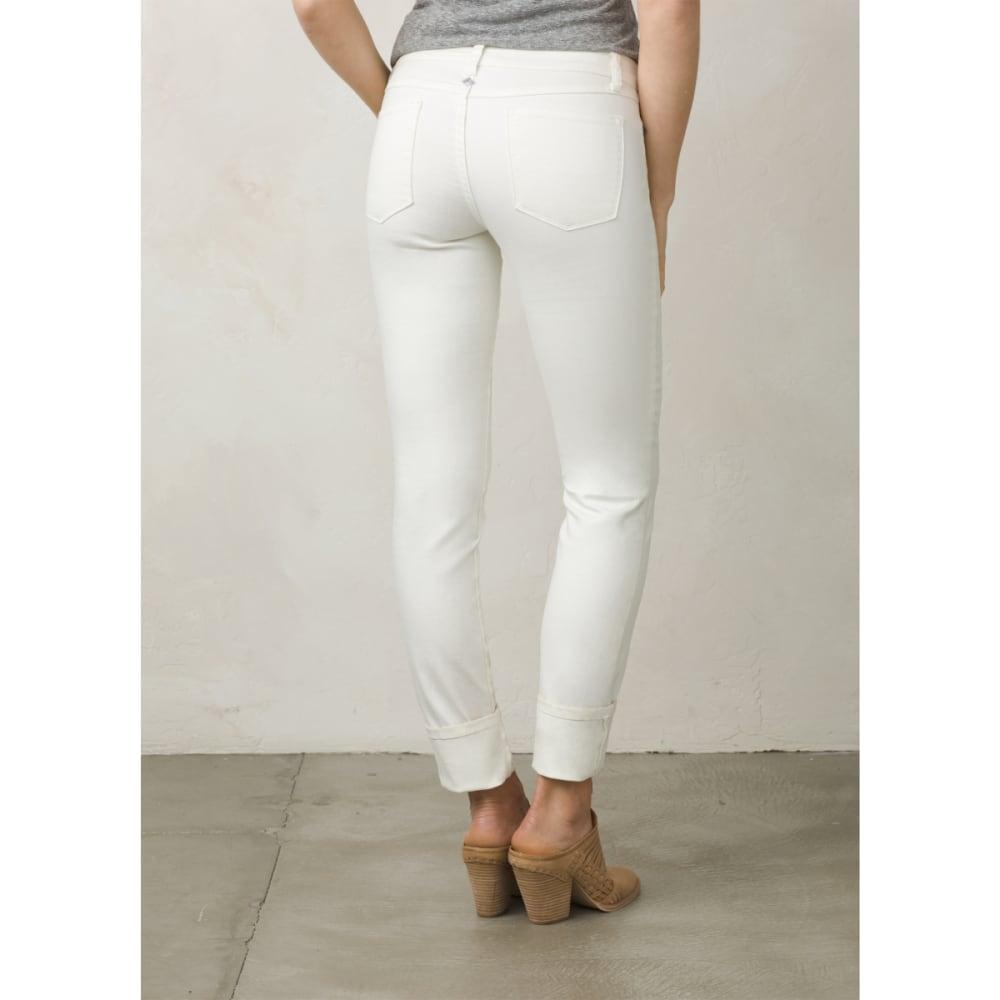 PRANA Women's Kara Jeans - WHITE