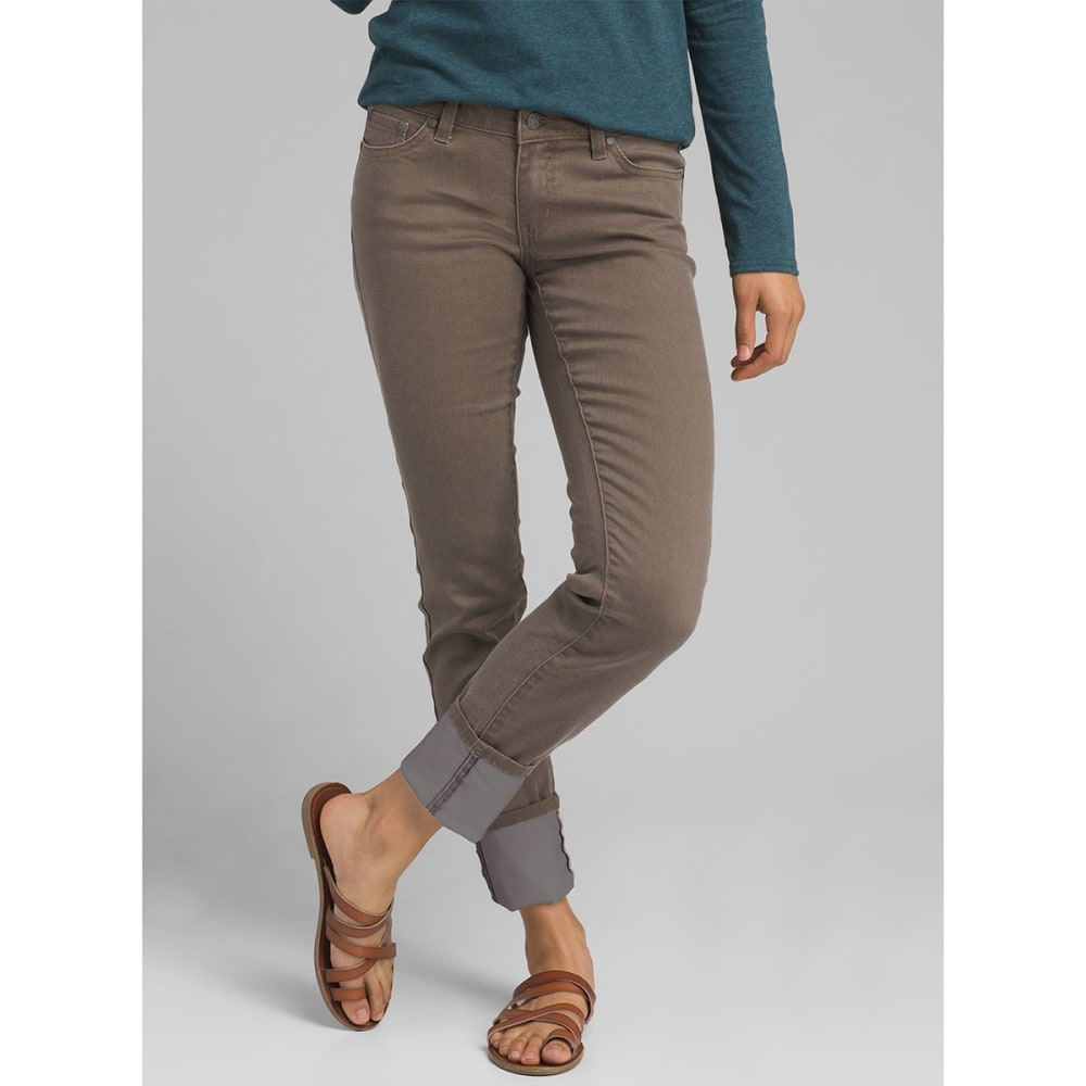 PRANA Women's Kara Jeans - DKMU DARK MUD