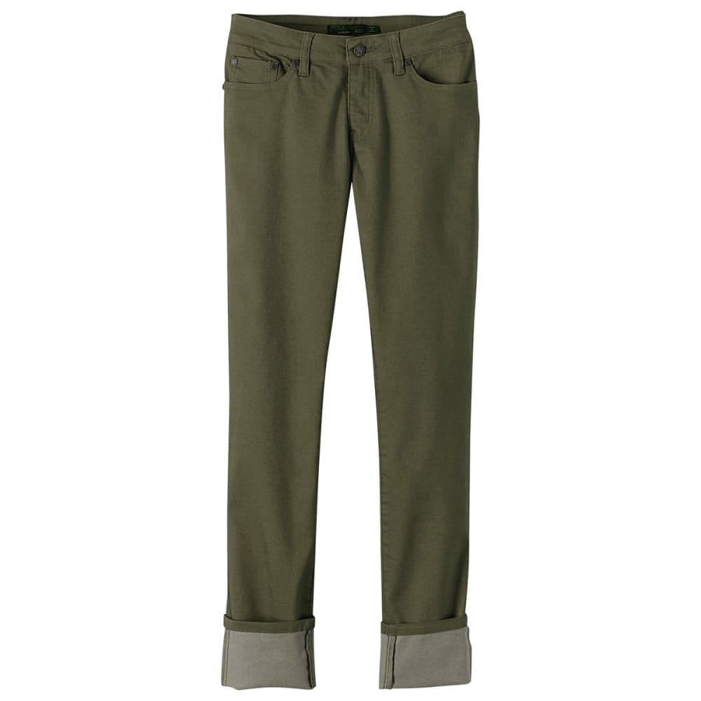 PRANA Women's Kara Jeans - CARGO GREEN