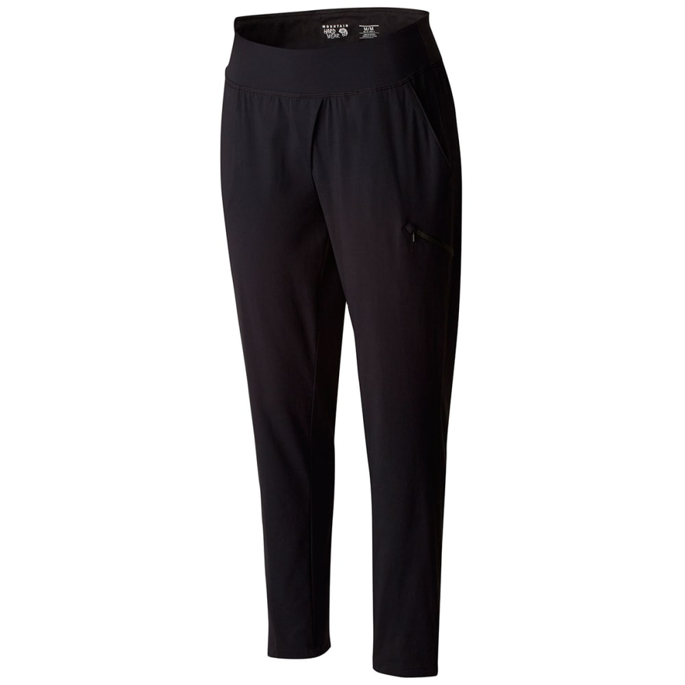 MOUNTAIN HARDWEAR Women's Dynama Ankle Pants - BLACK