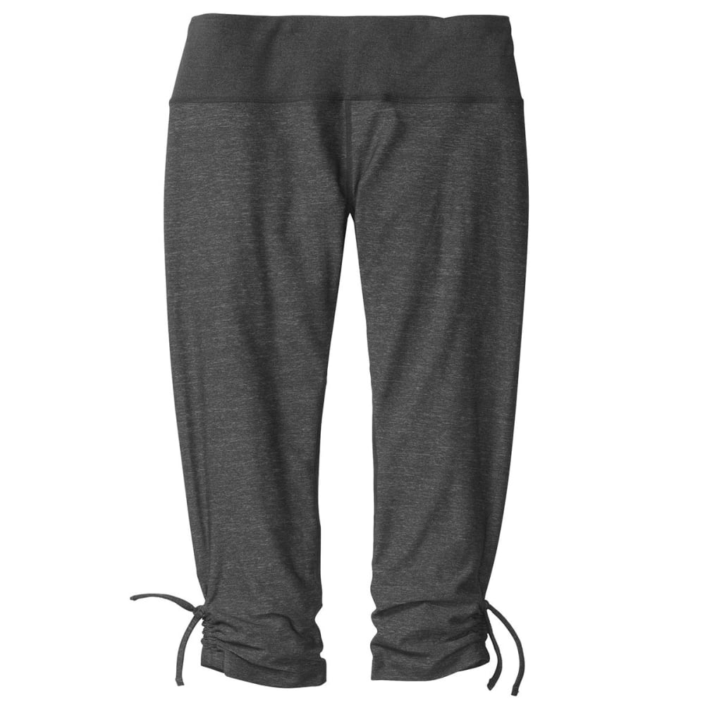 MOVING COMFORT Women's Urban Gym Capris - BLACK