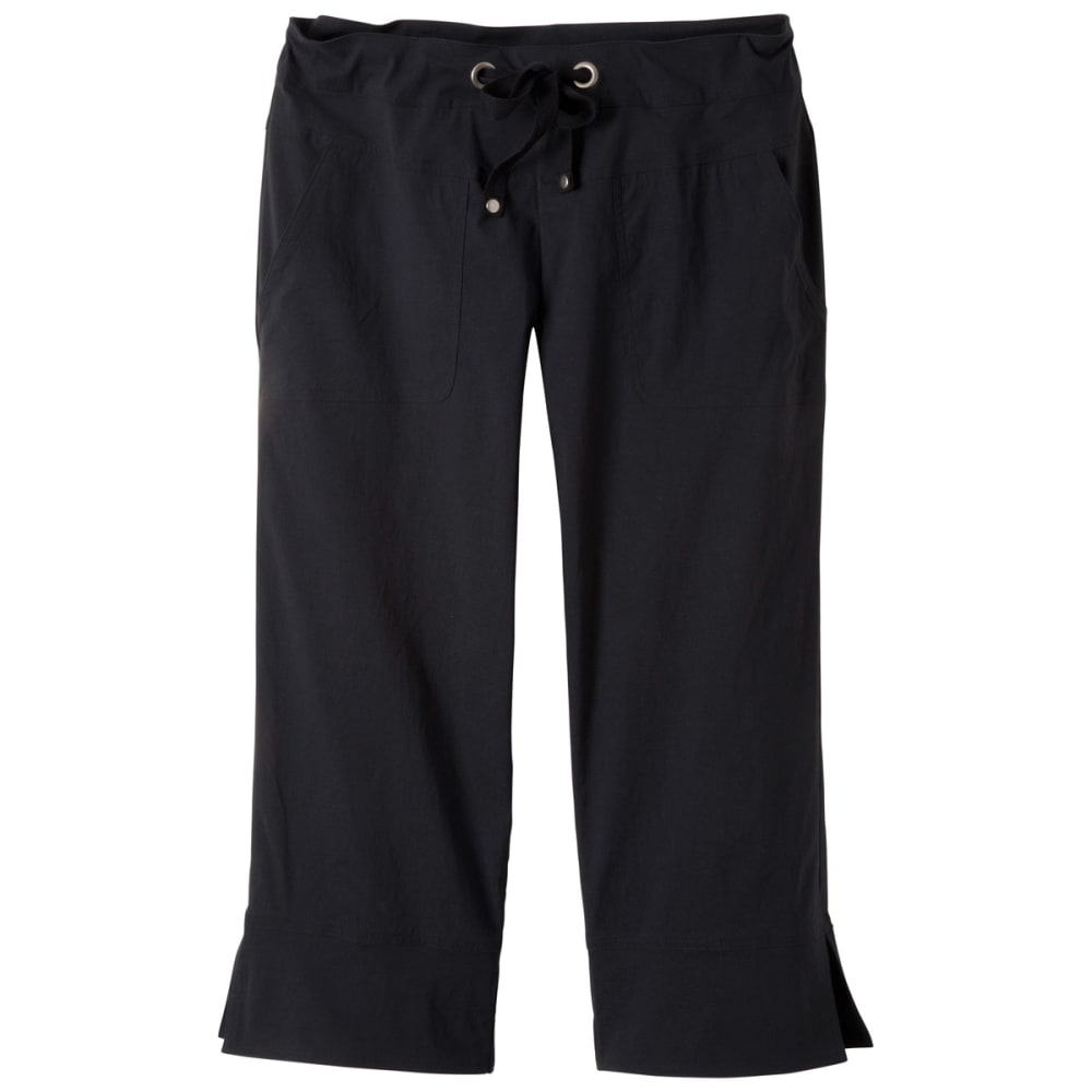 PRANA Women's Bliss Capris - BLACK