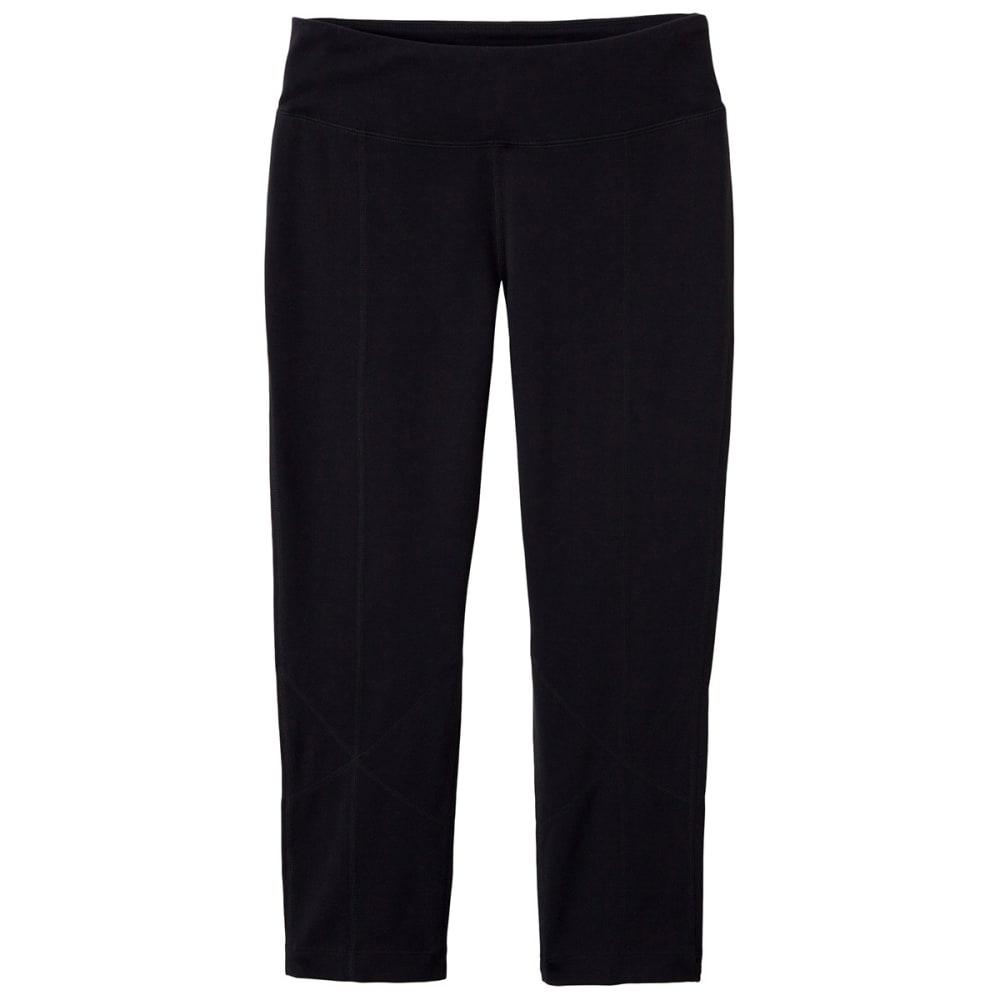 Prana Women's Prism Capri Leggings - Black - Size XS W4PRIS311