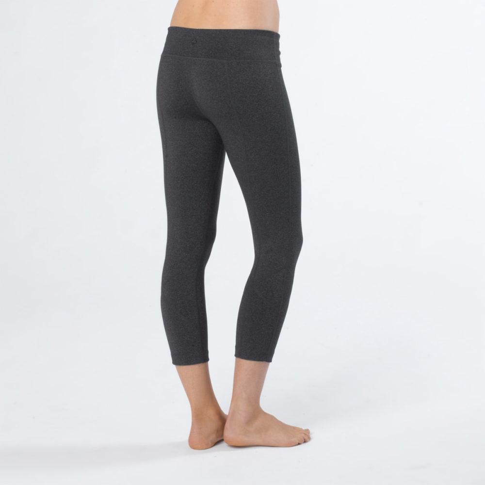 PRANA Women's Prism Capri Leggings - CHARCOAL