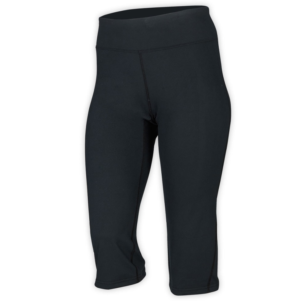 Ems Women's Techwick Fusion Capri Leggings - Black - Size XS S14W0292
