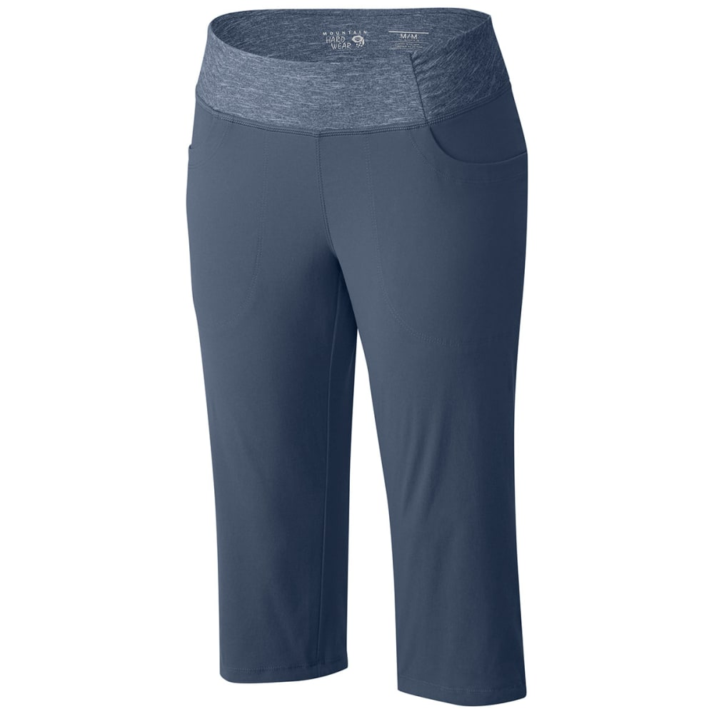 MOUNTAIN HARDWEAR Women's Dynama Capris - MOUNTAIN BLUE