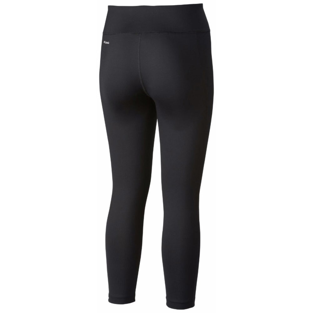 COLUMBIA Women's Trail Bound Capri Tights - BLACK