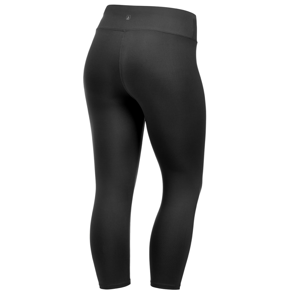 EMS® Women's Techwick® Fusion Capri Leggings - BLACK