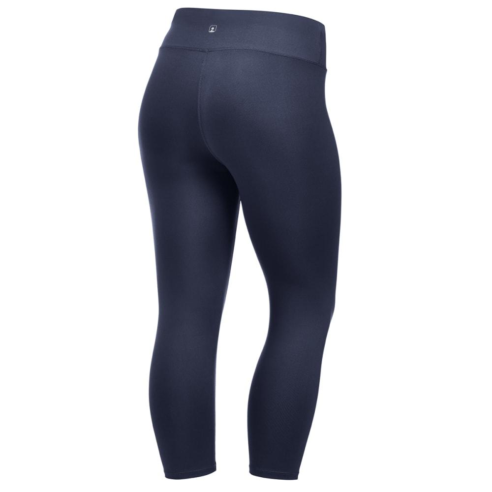 EMS Women's Techwick Fusion Capri Leggings - NAVY BLAZER