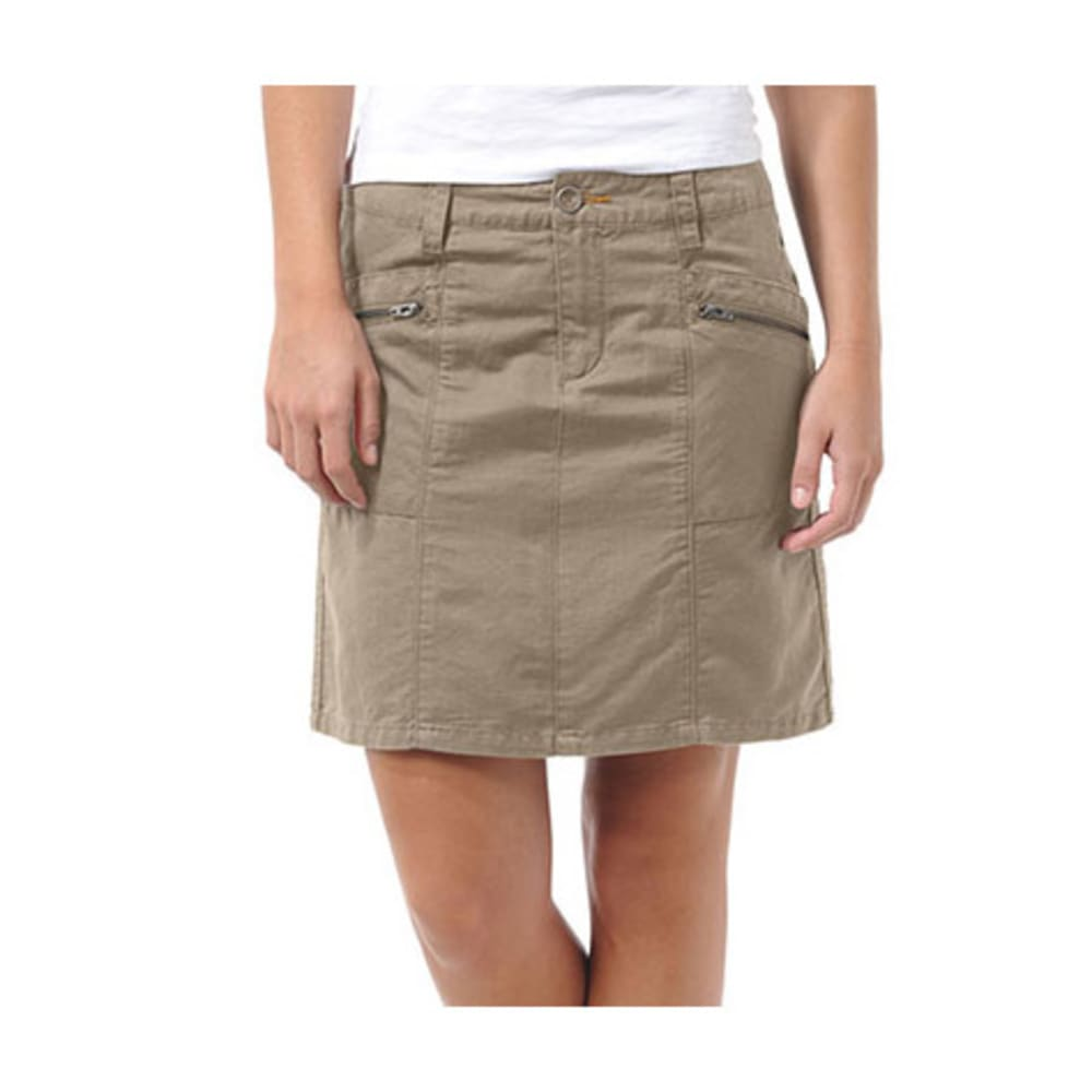 HORNY TOAD Swept Away Skirt - TRUE KHAKI