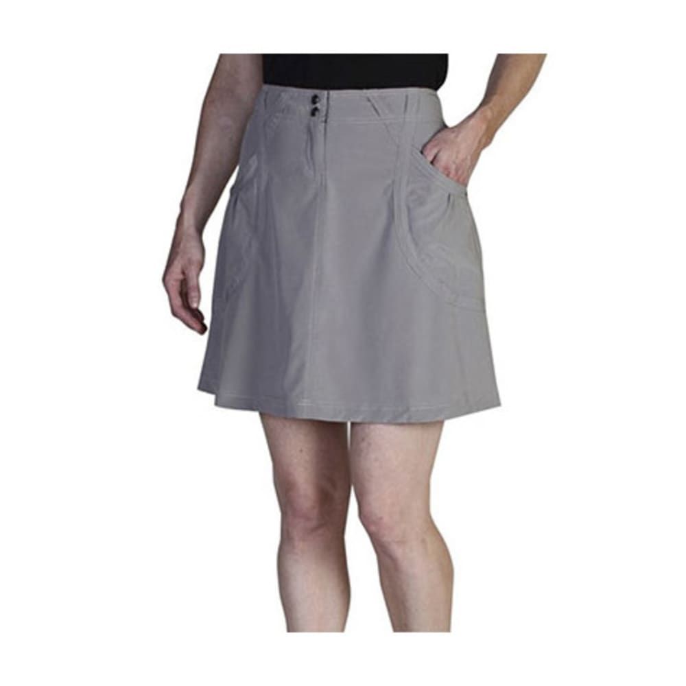 EXOFFICIO Women's Camina Skirt - CEMENT