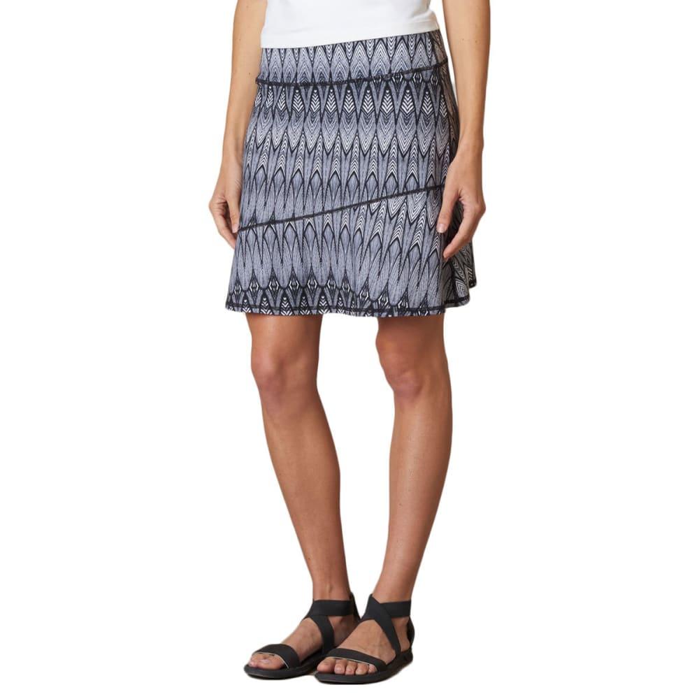 PRANA Women's Deedra Skirt - BLACK FEATHER