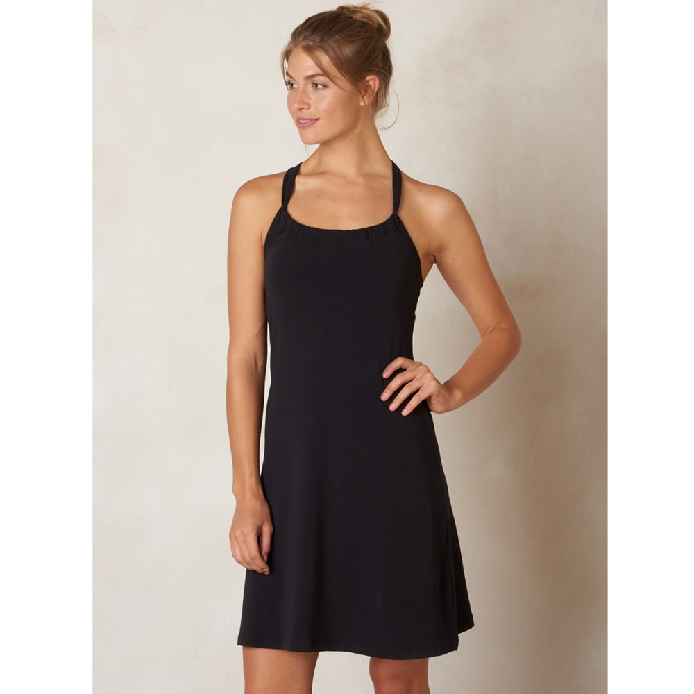 PRANA Women's Quinn Dress - BLACK