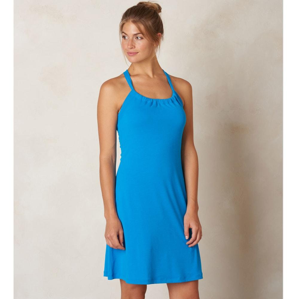 PRANA Women's Quinn Dress - BLUE GUAVA