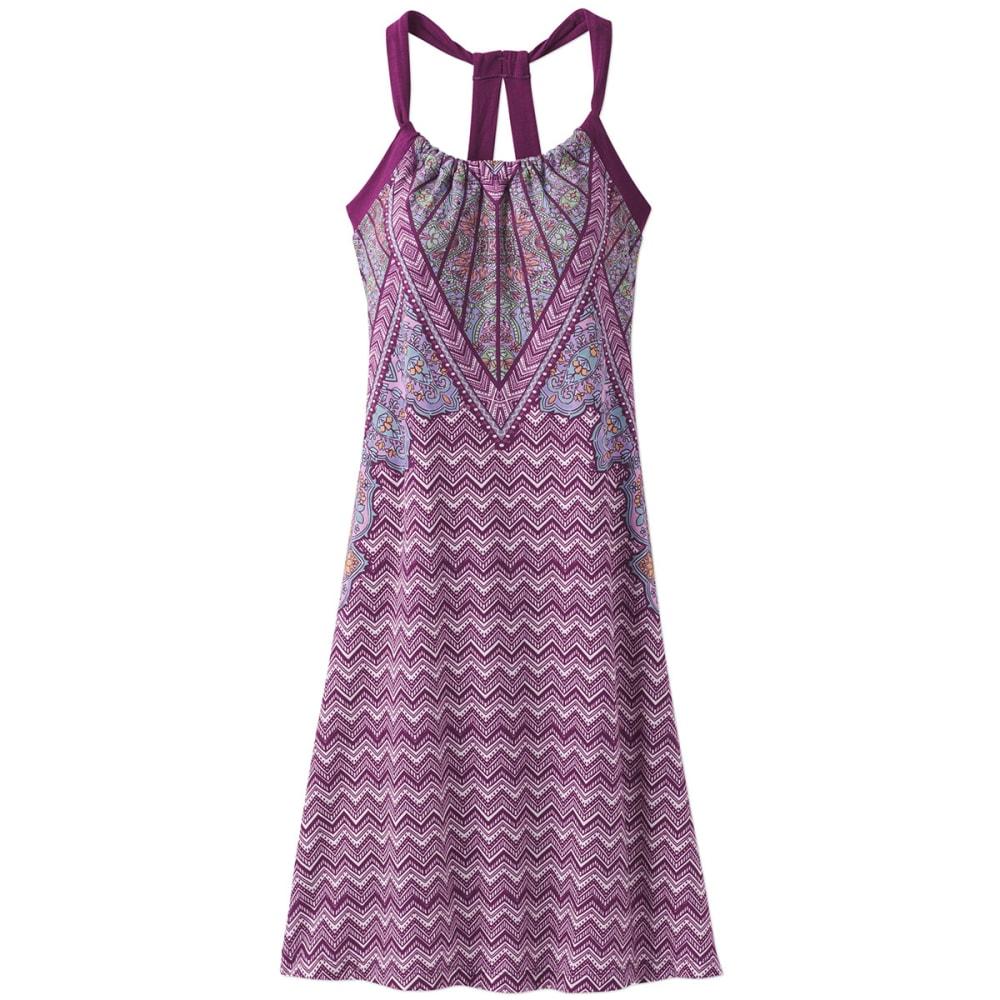 PRANA Women's Quinn Dress - GVSM-GRAPEVINE SAMBA