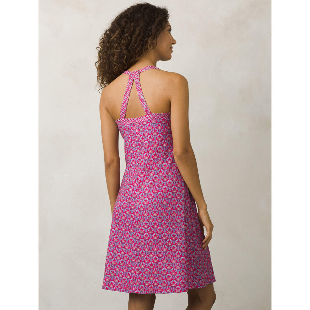 PRANA Women's Quinn Dress - CPBO-COSMO PINK SAMB