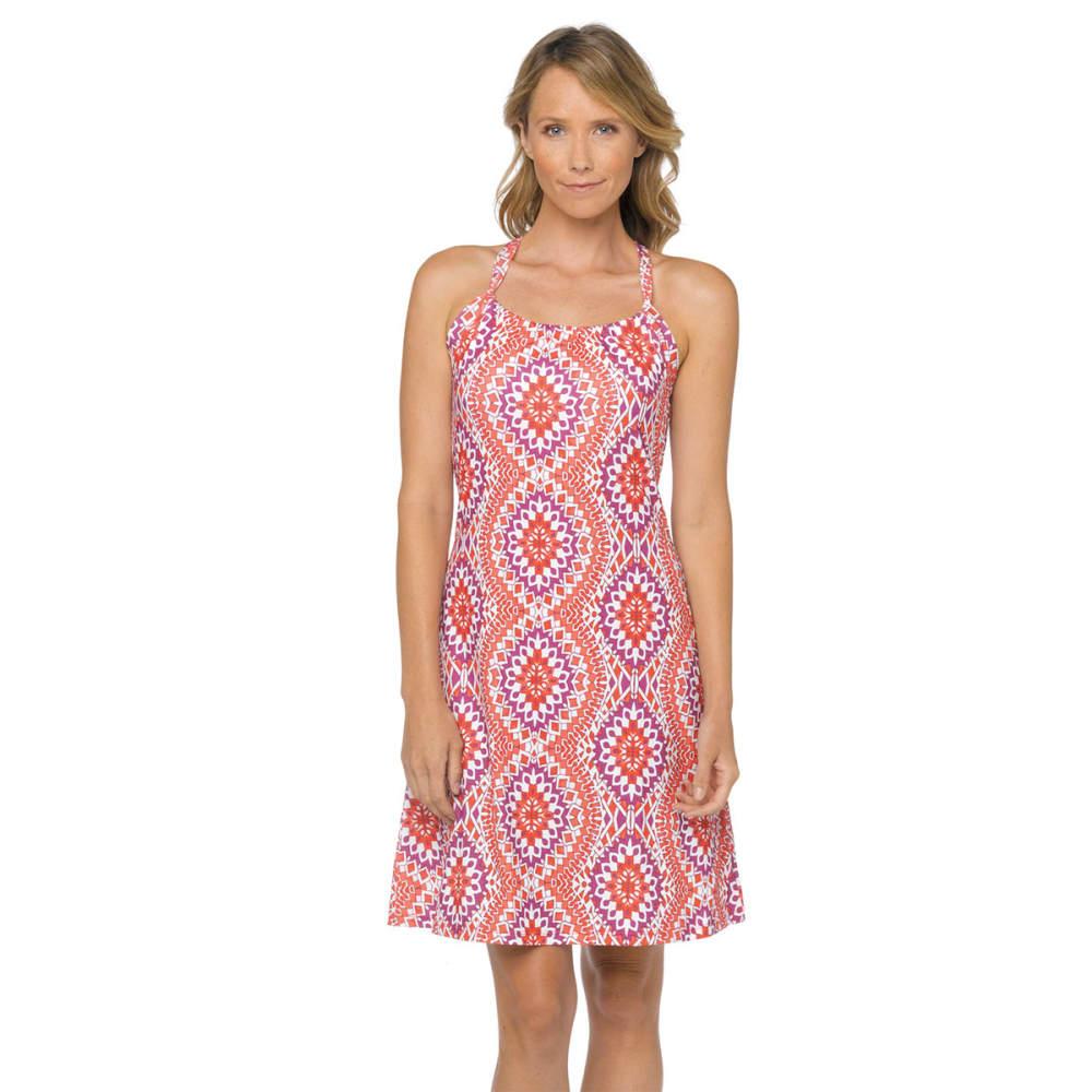 PRANA Women's Quinn Dress - CORAL GARDENIA