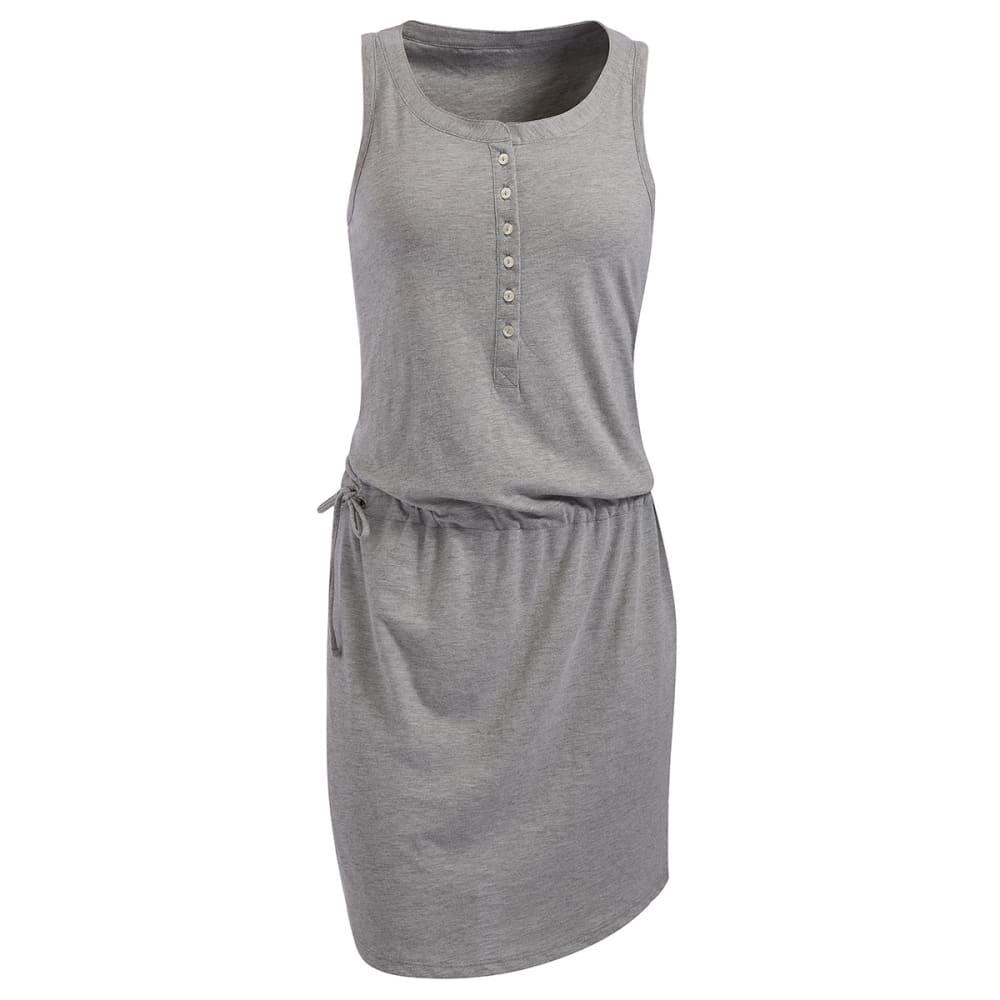 EMS® Women's Pop-Over Shirt Dress - LIGHT GREY