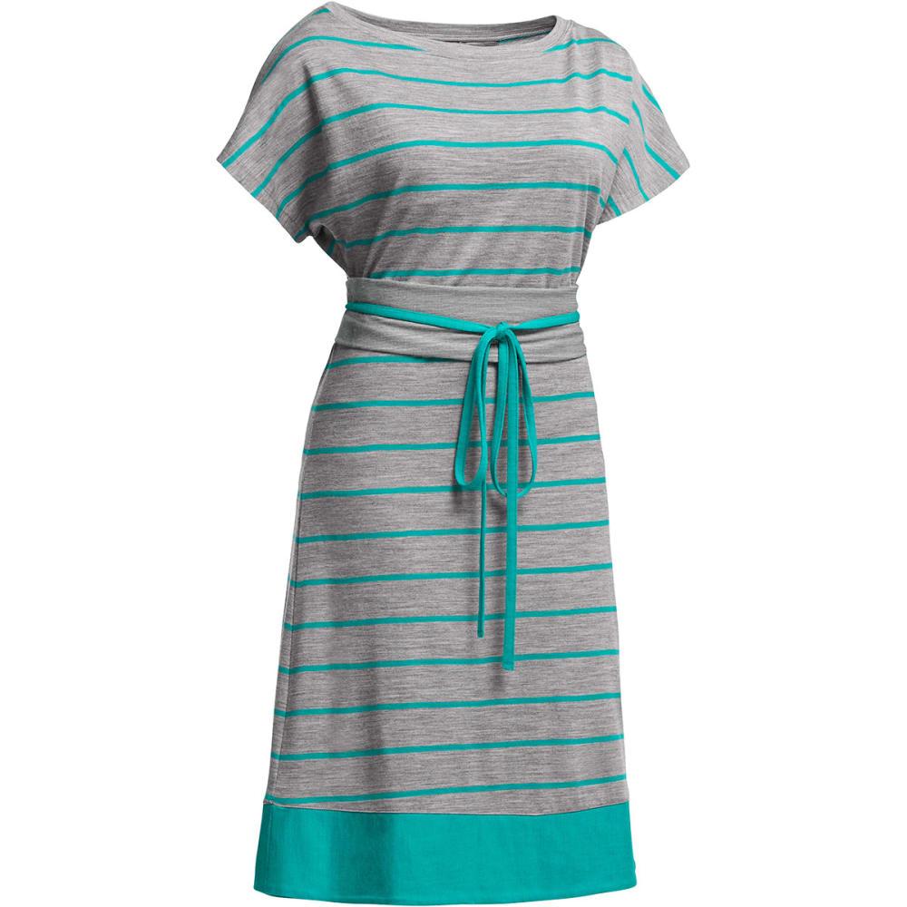 ICEBREAKER Women's Allure Dress - METRO HEATHER/MERMAI