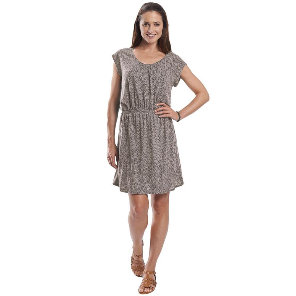 WOOLRICH Elemental Printed Knit Dress - CANYON
