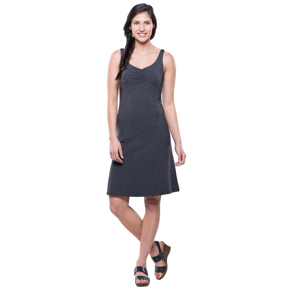 KUHL Women's Mova Aktiv Dress  - CHARCOAL HTR