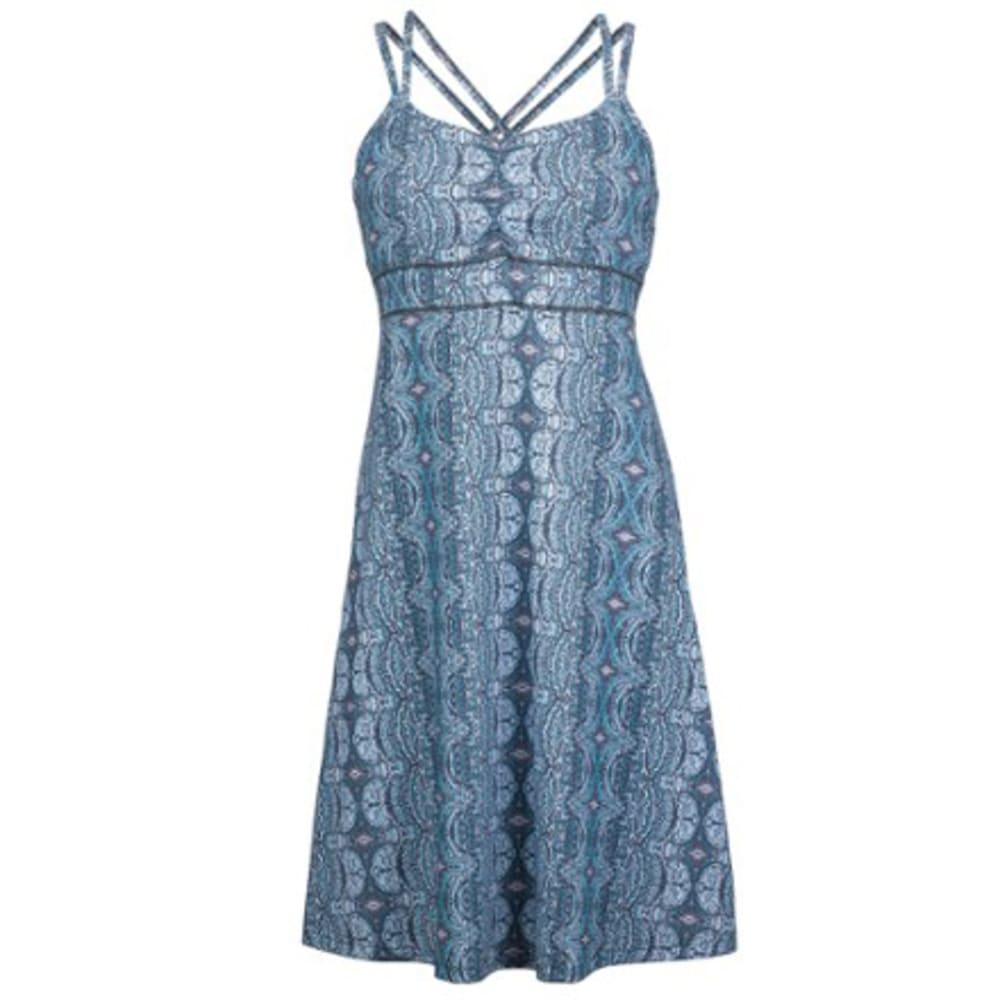 MARMOT Women's Taryn Dress - DARK STEEL TAPESTRY