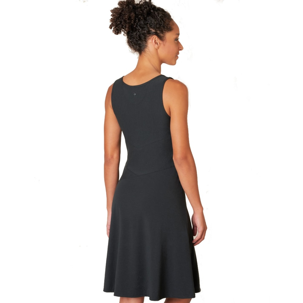 PRANA Women's Amelie Dress - BLK-BLACK