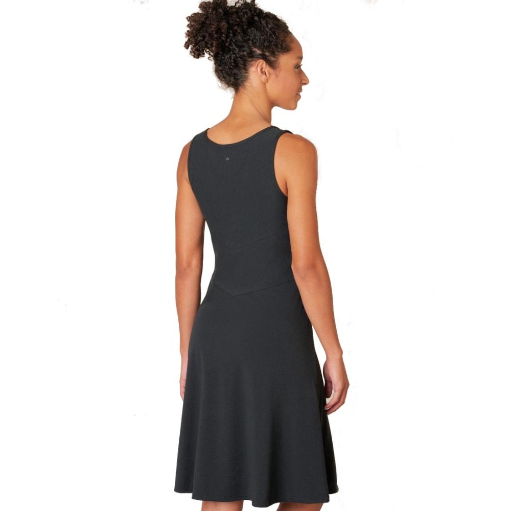 PRANA Women's Amelie Dress - BLK-BLACK