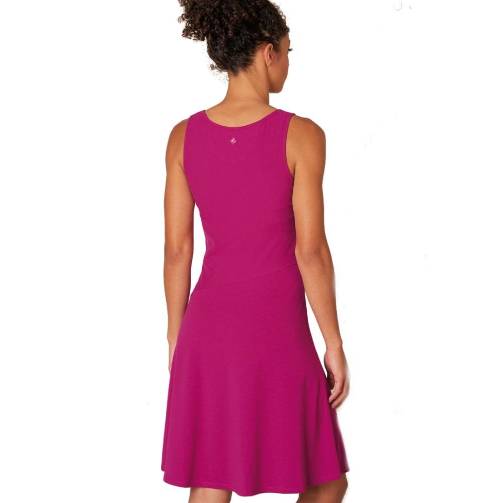 PRANA Women's Amelie Dress - FUSCHIA