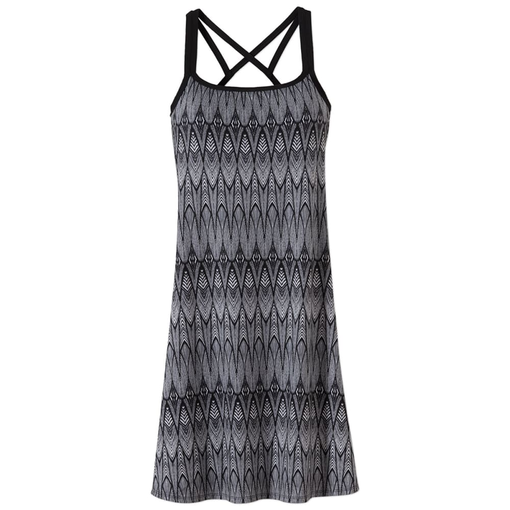 PRANA Women's Cora Dress - BLACK FEATHER