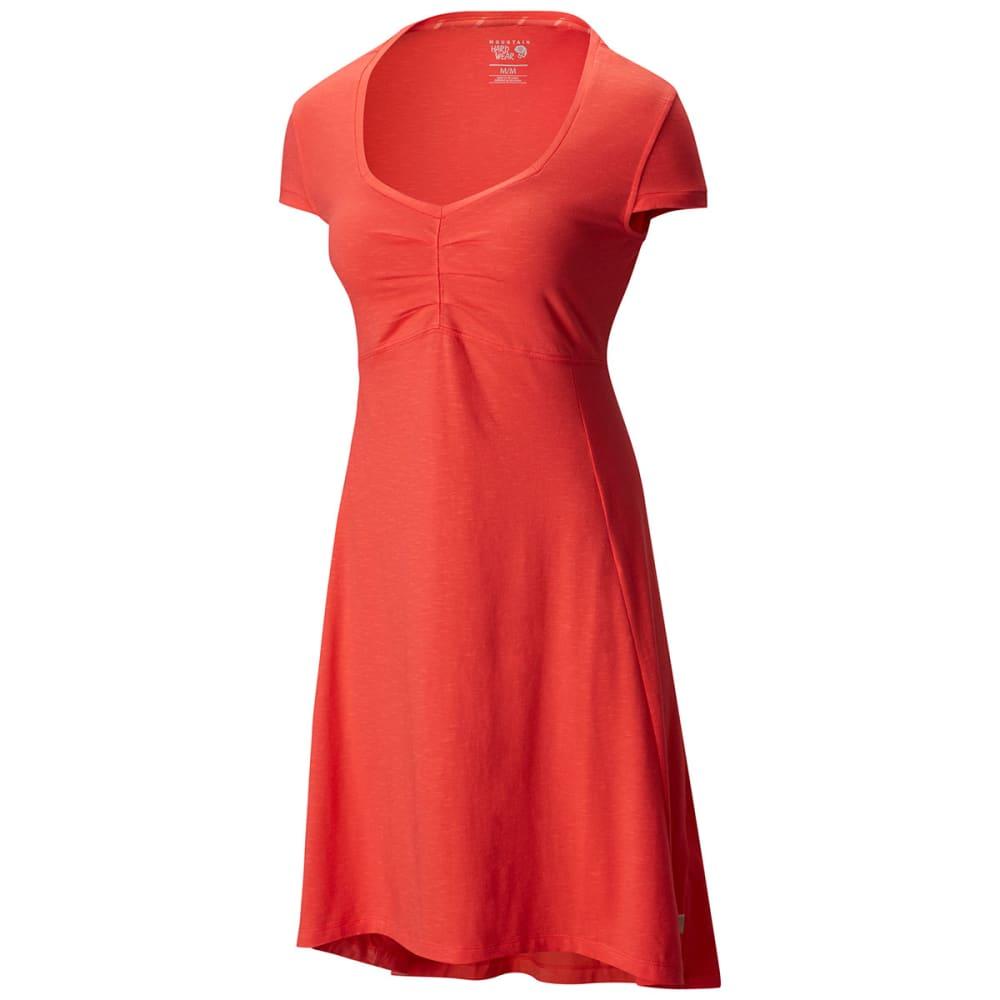 MOUNTAIN HARDWEAR Women's Tonga™ Short-Sleeve Dress - RED HIBISCUS
