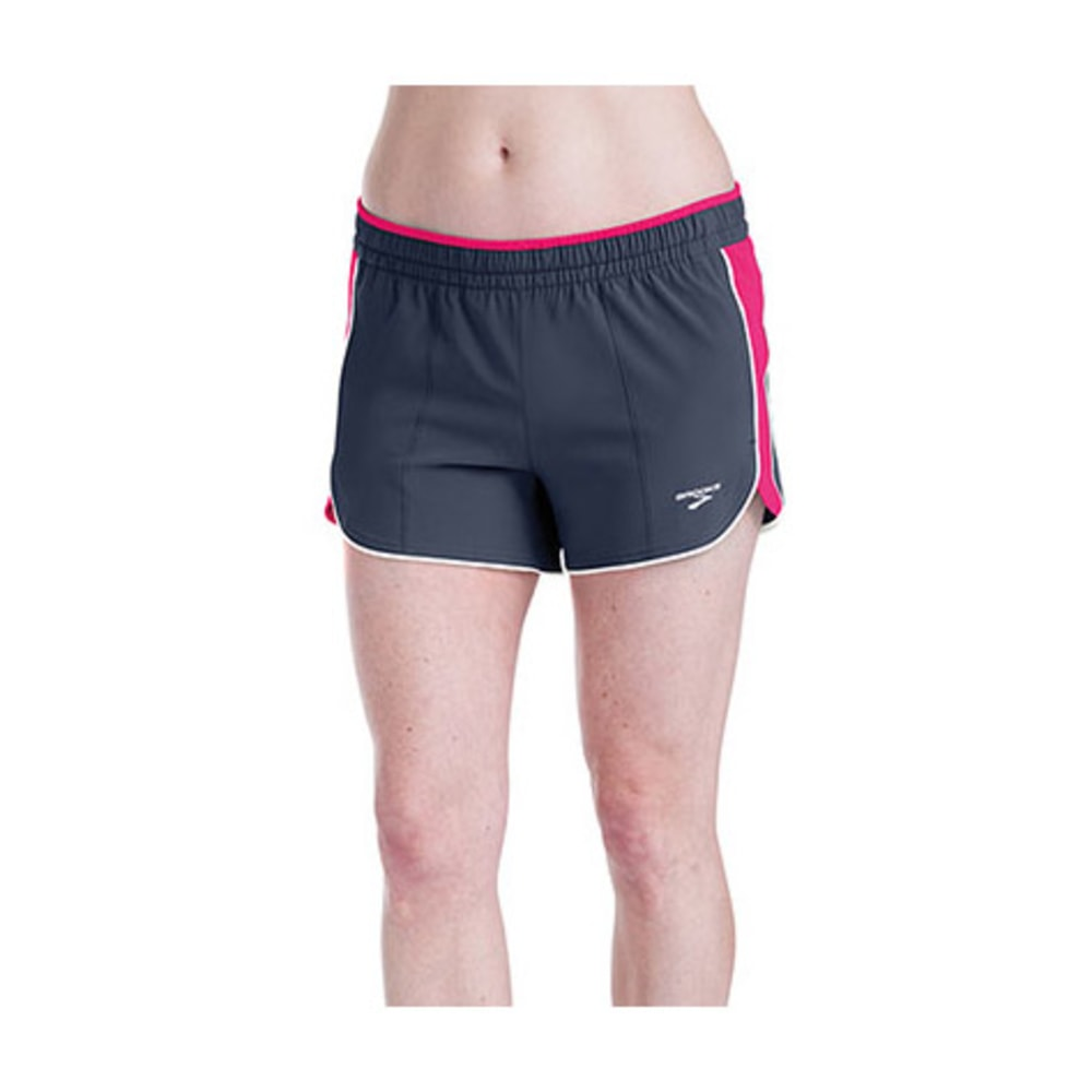 BROOKS Women's Epiphany Stretch Shorts - GRAY