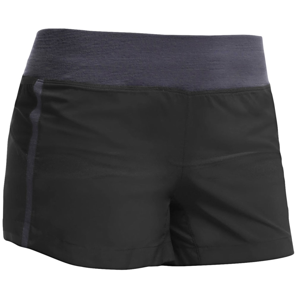 ICEBREAKER Women's Cool-Lite Spark Shorts - BLACK/PANTHER