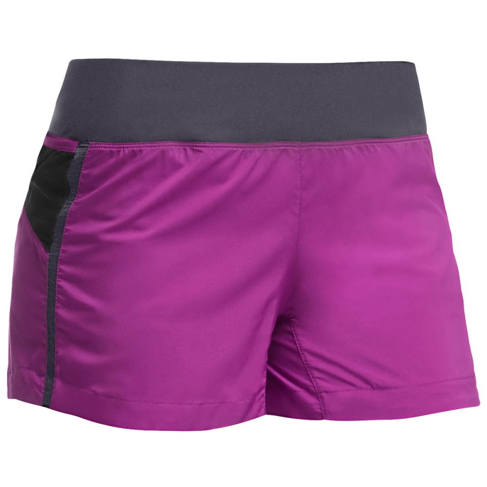 ICEBREAKER Women's Cool-Lite Spark Shorts - VIVID/PANTHER